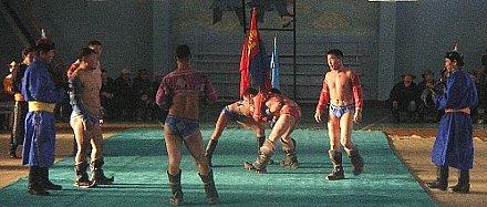 モンゴル相撲県大会